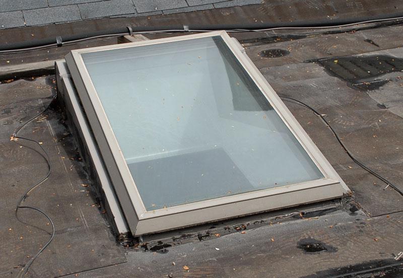 Angled Curb Skylight