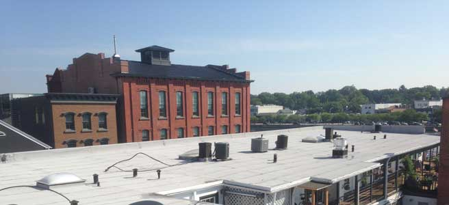 Rubber Roofing – Commercial Flat Roofs