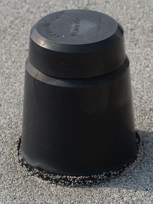 Remove air-vents from roof