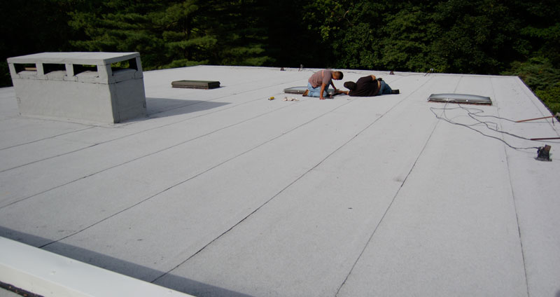 Fully Installed Modified Bitumen membrane roof