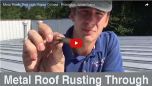 Metal Roof Rusting Through - Almost any metal roof can be recovered or repaired - Watch this video