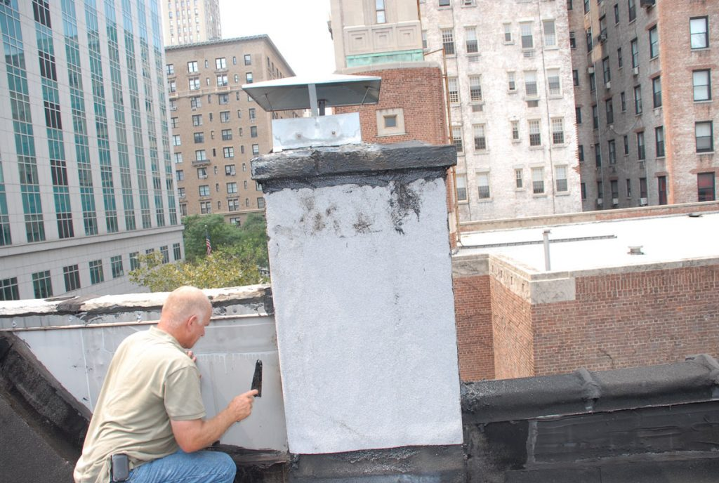 Repairing a leaky chimney in Manhattan ,NY
