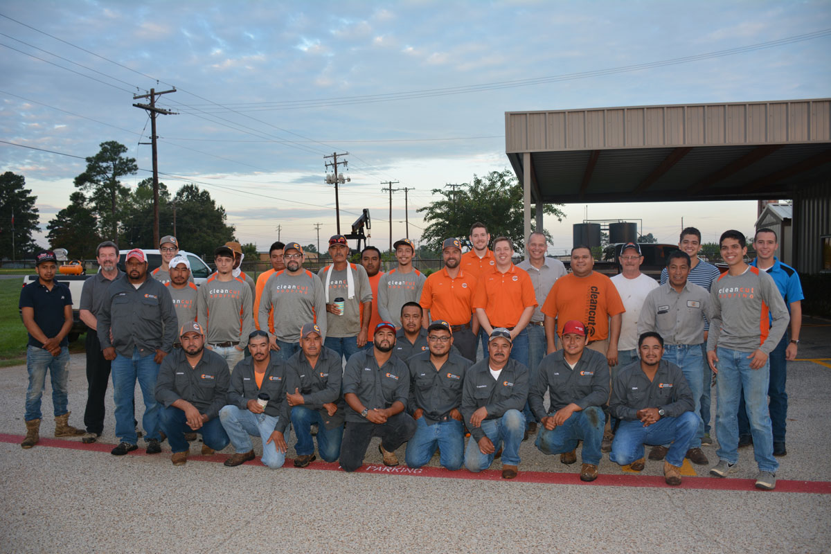 Roofing Team picture at Clean Cut Roofing Longview Texas