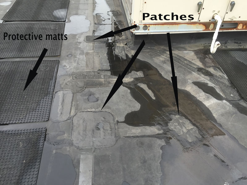 EPDM Rubber Roof Repairs