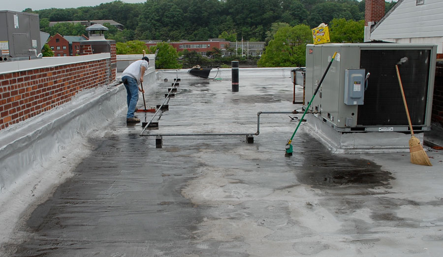 Repairing-a-Modified-Bitumen-Roof in Westport